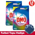 Omo Matik Toz Çamaşır Deterjanı Color 6 kg x 2 Adet