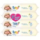 Uni Baby Islak Havlu Sensitive 56 lı 3+1 Avantaj Paketi