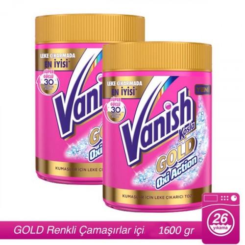 Vanish Gold Kosla Oxi Action Leke Çıkarıcı 800 gr x 2 Adet