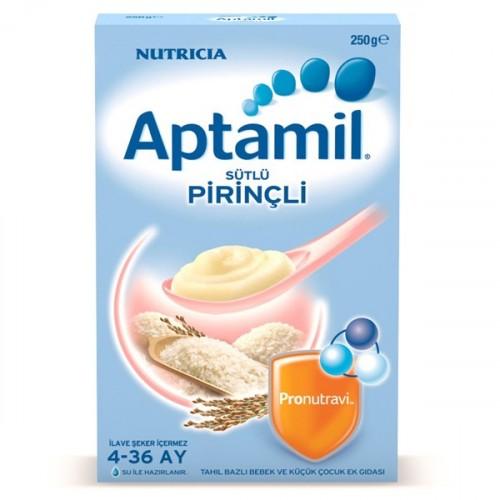 Aptamil Sütlü Pirinçli Kaşık Maması 250 gr