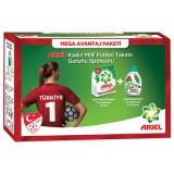 Ariel Toz Çamaşır Deterjanı 4,5 Kg  + Sıvı Deterjan 15 Yıkama