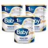 Baby Goat  1 Keçi Sütü Bazlı Bebek Sütü 400 gr x 3 Adet