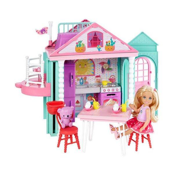 Barbie Chelseanin Iki Katlı Evi Dwj50 Fiyatı Happycomtr
