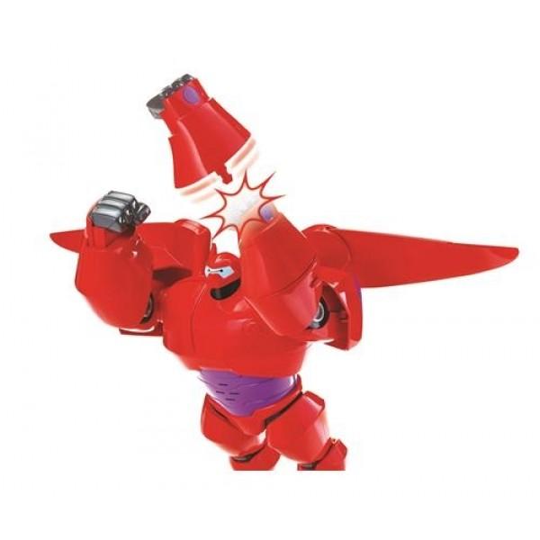 Big Hero 6 Süper Kahraman Ateş çıkararak Uçan Baymax Ve Hiro