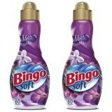 Bingo Soft Çamaşır Yumuşatıcısı Mor Çiçekler 1,44 lt x 2 Adet
