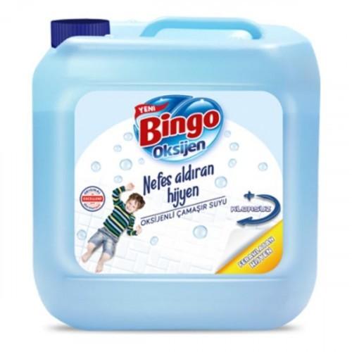 Bingo Oksijen Çamaşır Suyu Ferahlatan Hijyen 3,5 lt