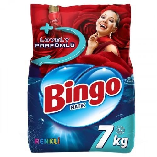 Bingo Matik Konsantre Eko Renkli 7 Kg