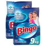 Bingo Matik Sık Yıkanan Çamaşırlara Özel 9 Kg x 2 Adet