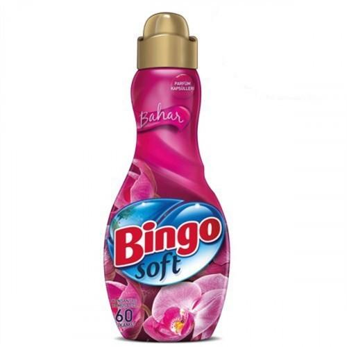 Bingo Soft Konsantre Çamaşır Yumuşatıcısı Bahar 1,44 lt