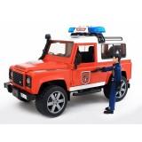 Bruder Land Rover İtfaiye Aracı ve İtfaiye Memuru 02596