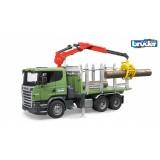 Bruder Scania R-Serisi Kütük Taşıyıcı Kamyon 03524