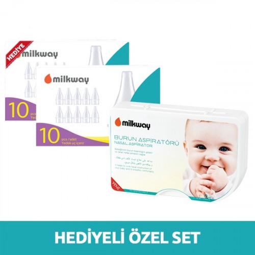 Milkway Burun Aspiratörü + 20 Yedek Uç