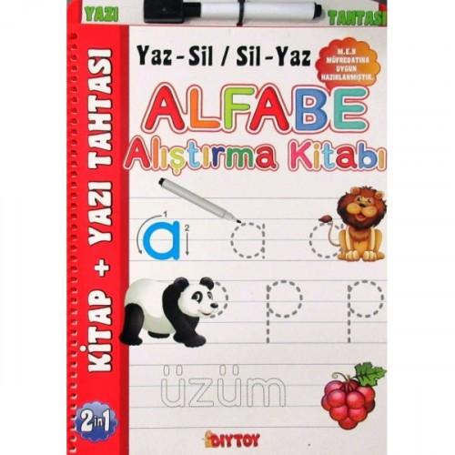 Diy-Toy Alfabe Alıştırma Kitabı