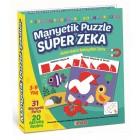 Diy-Toy Manyetik Puzzle Süper Zeka 1536