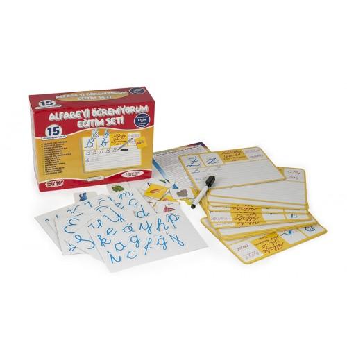 Diy-Toy Yayınları Alfabeyi Öğreniyorum Eğitim Seti 9215