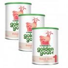 Golden Goat 1 Keçi Bebek Sütü 400 gr x 3 Adet