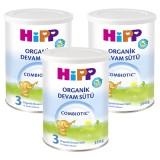 Hipp 3 Organic Combiotic Devam Sütü 350 gr x 3 Adet