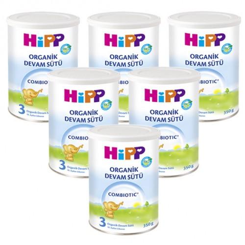 Hipp 3 Organic Combiotic Devam Sütü 350 gr x 6 Adet