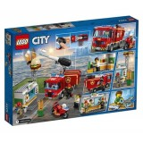 Lego City Burger Bar F Rescue 60214