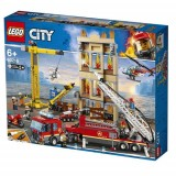 Lego City D Fire Brigade 60216