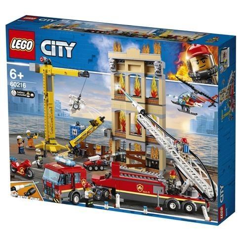 Lego City D Fire Brigade 60216