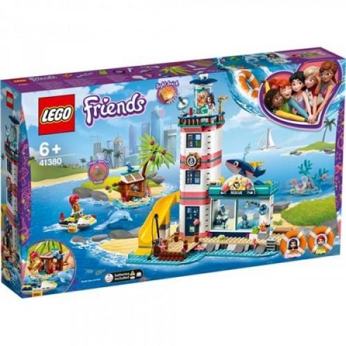 Lego Friends Deniz Feneri Kurtarma Merkezi 41380