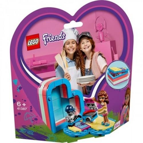 Lego Friends Stephanie'nin Yaz Kalp Kutusu 41387