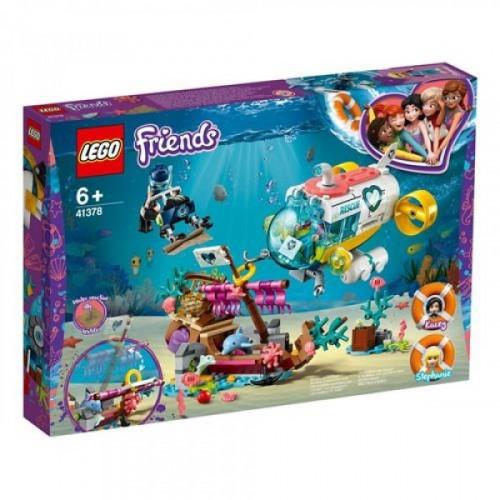 Lego Friends Yunus Kurtarma Görevi