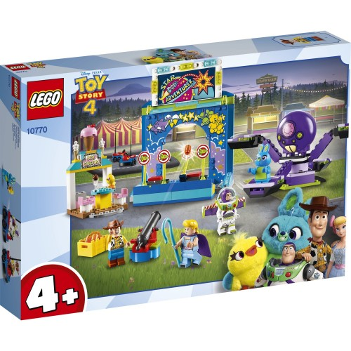 Lego Juniors Toy Story 4 Buzz and Woodys 10770