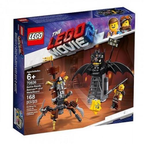 Lego Movie 2 Batman Metalbeard 70836