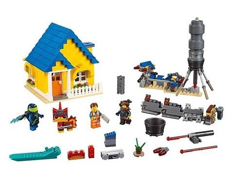 Lego Movie 2 Emmets House Rocket 70831