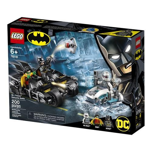 Lego Super Heroes Mr. Freeze Batcycle Savaşı 76118