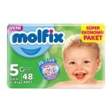 Molfix Bebek Bezi 5 Beden Junior Dev Ekonomik Paket 48 adet