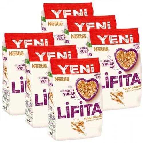 Nestle Lifita Yulaf Gevreği 210 gr x 6 Adet