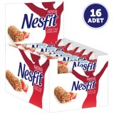 Nestle Nesfit Çilekli Bar 23,5 gr x 16 Adet