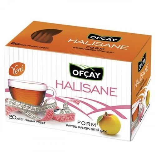 Ofçay Halisane Form Çayı Kayısılı 2 gr x 20 li