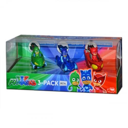Pija Maskeliler Figür ve Araçlar 3'lü Set 203143000