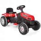 Pilsan Active Traktör Pedallı Araba - Kırmızı 07-314