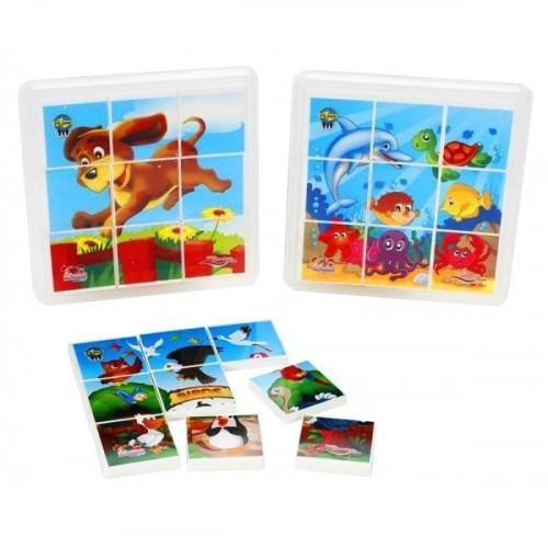 Pilsan Animal Puzzle 9 Parça 03-335