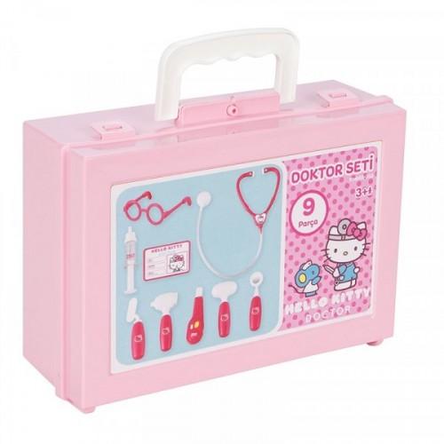 Pilsan Hello Kitty Çantalı Doktor Seti 03-311