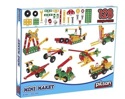 Pilsan Mini Maket (128 Parça) 03-200