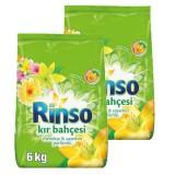 Rinso Toz Çamaşır Deterjanı Kır Bahçesi 6 kg x 2 Adet