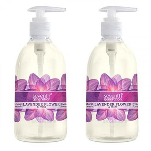 Seventh Generation Sıvı El Sabunu Lavanta Çiçeği - Nane 354ml x 2 Adet