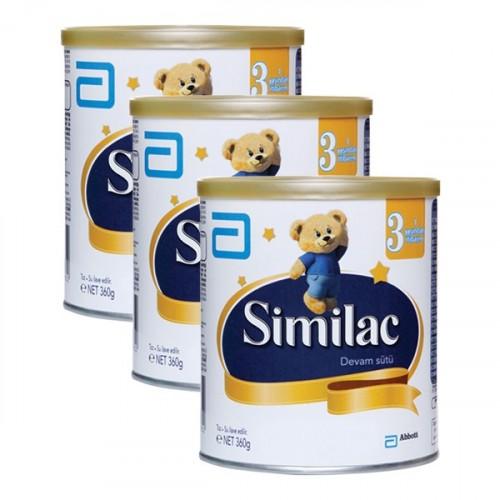 Similac 3 Devam Sütü 360 gr x 3 Adet