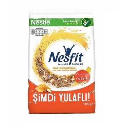 Nestle Nesfit Ballı Bademli Mısır Gevreği 400 gr x 3 Adet