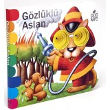 Delikli Kitaplar Serisi - Gözlüklü Aslan - Kolektif
