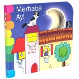 Delikli Kitaplar Serisi - Merhaba Ay - Giovanna Mantegazza