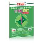 DGS 11 Yaş Görsel Algı Testi - Osman Abalı
