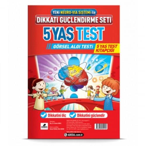 DGS 5 Yaş Görsel Algı Testi - Osman Abalı