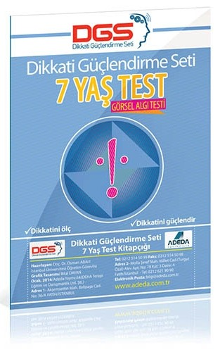 DGS 7 Yaş Görsel Algı Testi - Osman Abalı